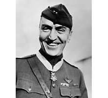 Eddie Rickenbacker Wearing The Medal Of Honor  Photographic Print