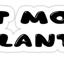 Cool Inspirational Vegatarian Vege Message Sticker