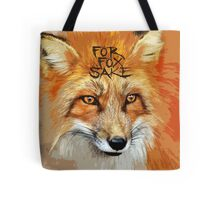 For Fox Sake Design Tote Bag