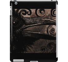Keeper of The Crow Series (The Watcher) iPad Case/Skin