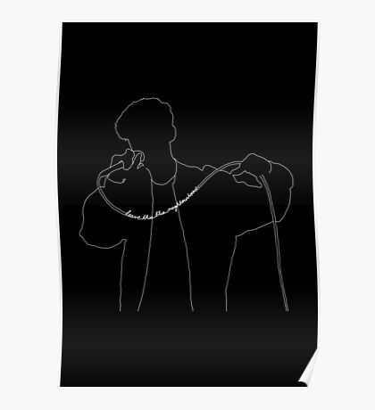 Troye Sivan Live Drawing Poster