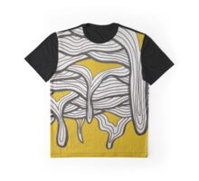 Yellow Drippps Graphic T-Shirt
