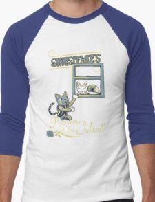 Romeow & Julicat Men's Baseball ¾ T-Shirt