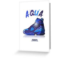 AQUA Greeting Card