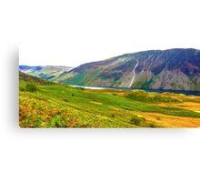 Wastwater Panorama, Lake District National Park, UK Canvas Print