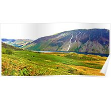 Wastwater Panorama, Lake District National Park, UK Poster