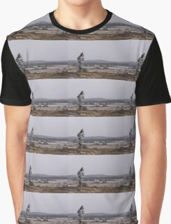 Canadian North - Lone Pine, Fields, Hills and Fresh Snow Graphic T-Shirt