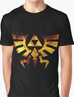 Galaxy Zelda Triforce Graphic T-Shirt