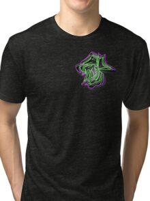 Abstract Graffiti  Tri-blend T-Shirt