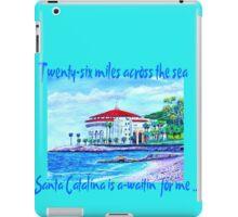 Catalina Island iPad Case/Skin