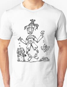 Tin Man and Food Bugs! Unisex T-Shirt