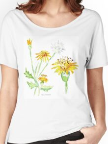 Dandelions (Perdeblom) - Botanical Women's Relaxed Fit T-Shirt