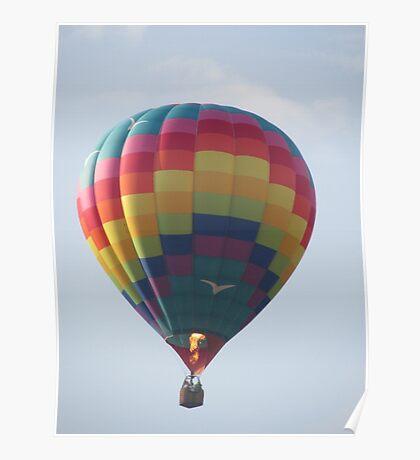 hot air balloon Poster