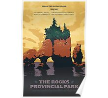 The Rocks Provincial Park Poster