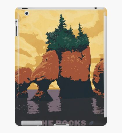 The Rocks Provincial Park iPad Case/Skin