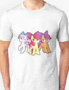 Cutie Bow Crusaders! Yay! Unisex T-Shirt