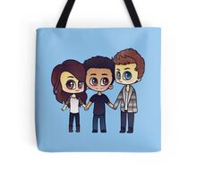 Teen Wolf: Allison, Scott & Isaac Tote Bag