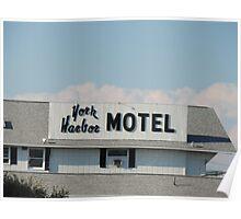 York Harbor Motel Poster