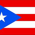 Puerto Rico Flag Stickers by Mark Podger