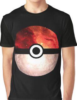 Galaxy Pokeball Graphic T-Shirt