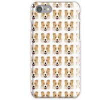 Amelia Pattern (Australian Border Collie) iPhone Case/Skin