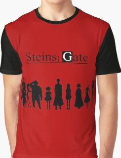 steins;gate Family anime Graphic T-Shirt