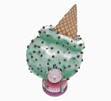 Doll faced dearies, Miss Minty choco chip  Baby Tee