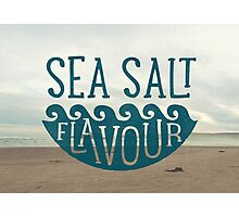 SEA SALT FLAVOUR Photographic Print