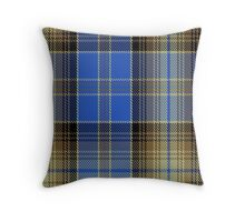 00826 West Coast WM 1586 Tartan Throw Pillow