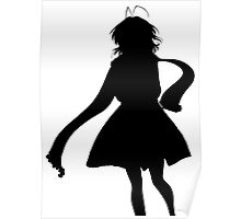 Nagisa Winter Coat Black - Clannad Poster