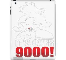 It's over 9000 t-shirt iPad Case/Skin