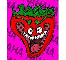 Jeffy the Insane Strawberry Photographic Print