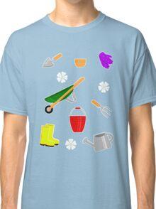 Gardening Pattern Classic T-Shirt