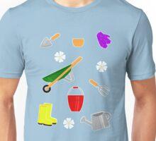 Gardening Pattern Unisex T-Shirt