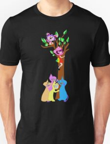 Spaceship Betty is Up a Tree with her best friend Bubblegum T-Shirt