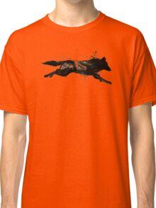 Black Wolf Running Classic T-Shirt