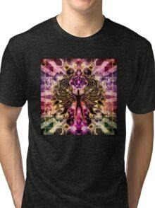 DARKNESS IS LIGHT 53 Tri-blend T-Shirt