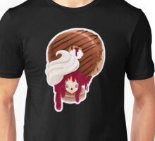 Doll faced dearies, Jemma Jelly filled chocolate donut Unisex T-Shirt