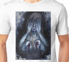 THE MAGGOTS ARE EATING MY FLESH Unisex T-Shirt