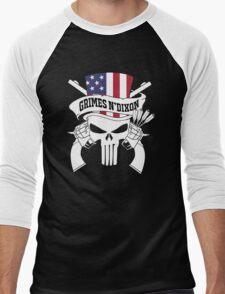 punisher G N' D Men's Baseball ¾ T-Shirt