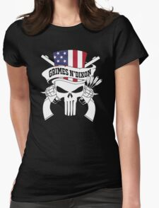 punisher G N' D Womens Fitted T-Shirt