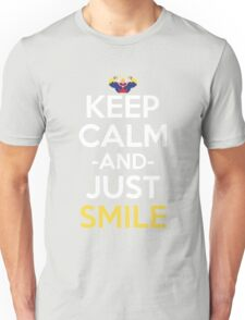 All Might Keep Calm And Just Smile Anime Manga Shirt Unisex T-Shirt