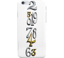 Small World Clock iPhone Case/Skin