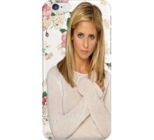 Buffy Summers Floral  iPhone Case/Skin