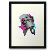 Abstract Art Apparel - Neon Framed Print