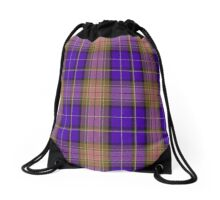 00839 West Coast WM 1893-11 Tartan Drawstring Bag