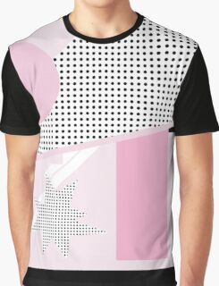 Pink Disaster Graphic T-Shirt