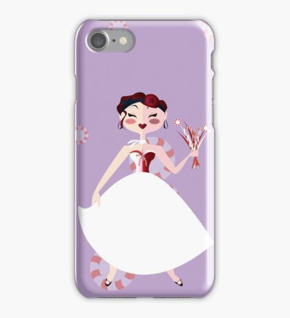 Peppermint Woman iPhone Case/Skin