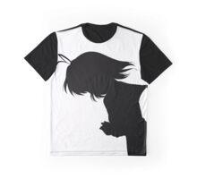 Nagisa Winter Uniform Black - Clannad Graphic T-Shirt