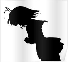 Nagisa Winter Uniform Black - Clannad Poster
